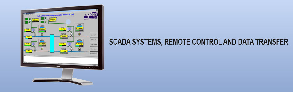 scada systems remote control and data transfer
