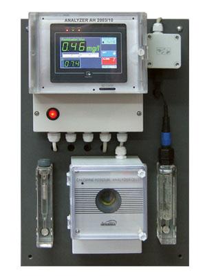 Analizator hlora AH-2003/10