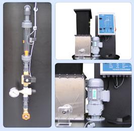 Automatski sistem za kontinualnu pripremu praškastih materija  APM-compact