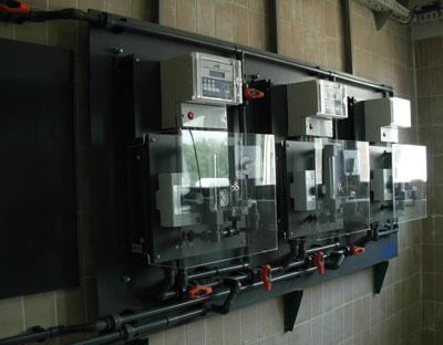 Sistem automatskog upravljanja procesom hlorisanja  izvedeno