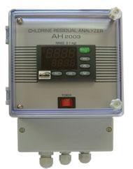 Elektronika analizatora hlora