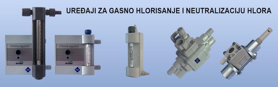 uređaji za gasno hlorisanje i neutralizaciju hlora