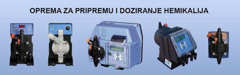 oprema za pripremu i doziranje hemikalija