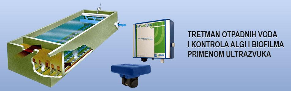 tretman otpadnih voda i kontrola algi i biofilma primenom ultrazvuka